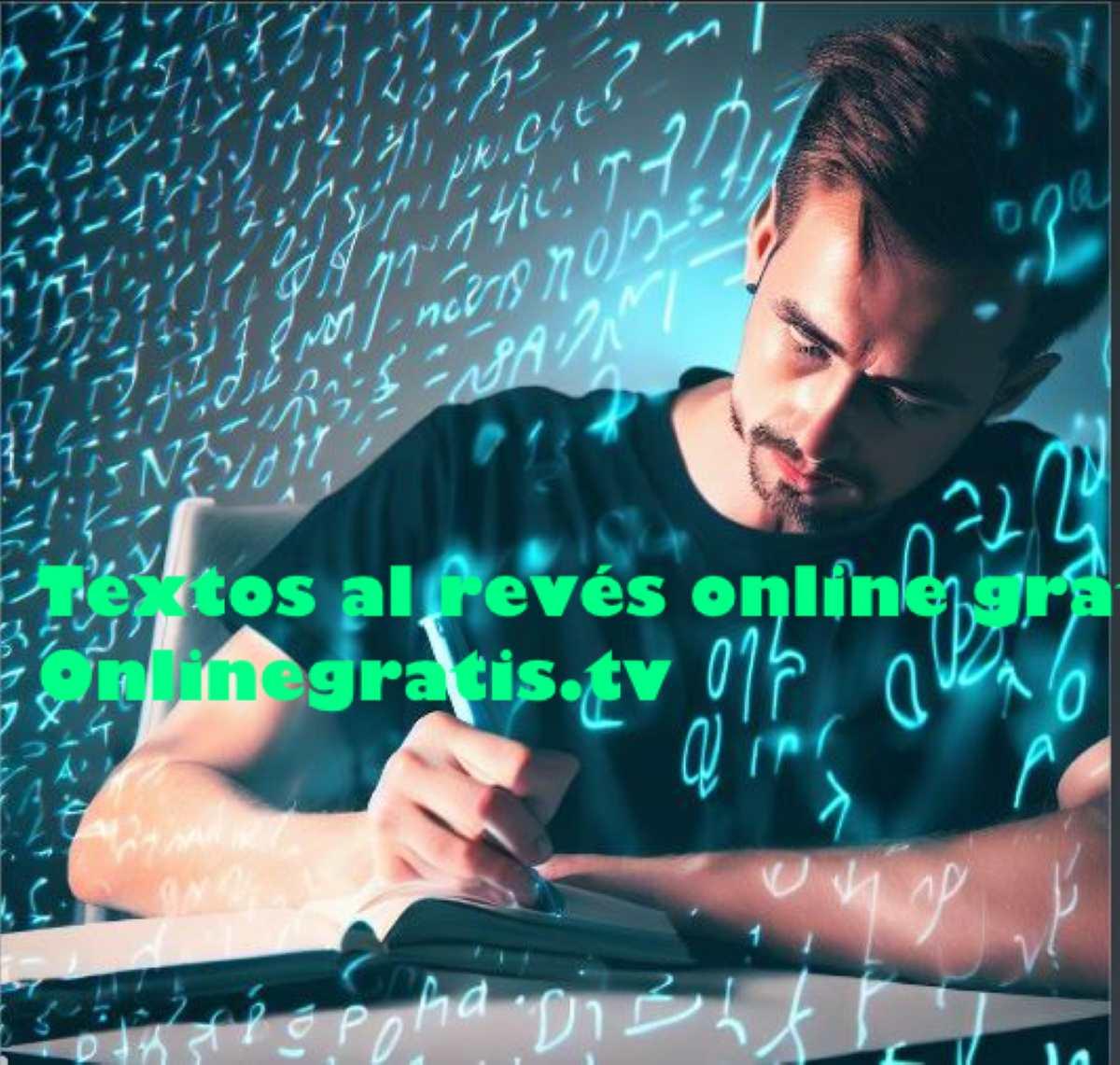 Escribir Textos Al Revés Online Gratis